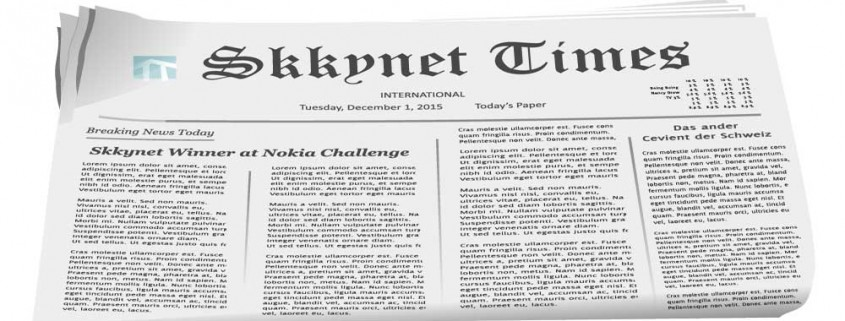 Skkynet Times Newspaper