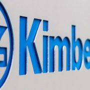 Kimberly-Clark logo on sign
