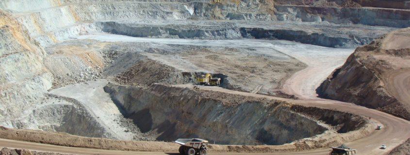 Minera San Cristobal Tesorera pit