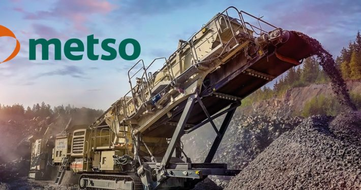 Metso rock crusher